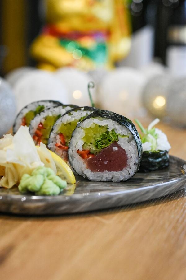futomaki spicy maguro