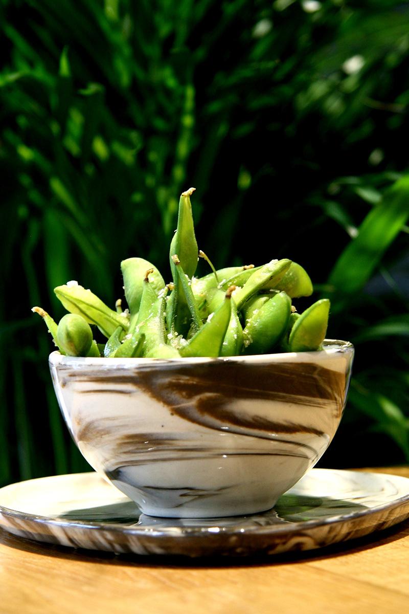 Edamame, czyli strąki młodej soi