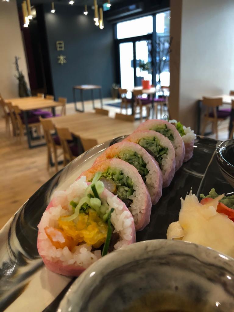 futomaki ebi tempura wpapierku sojowym